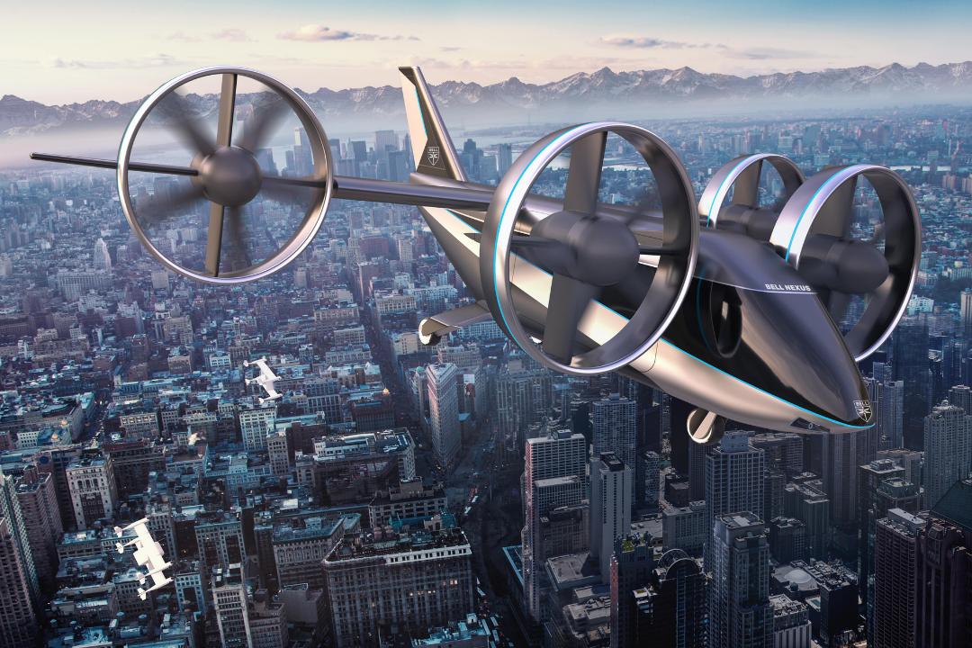 Budoucnost dopravy? Bell Textron Inc. a FEL ČVUT vyvíjejí modely pro létající taxi.